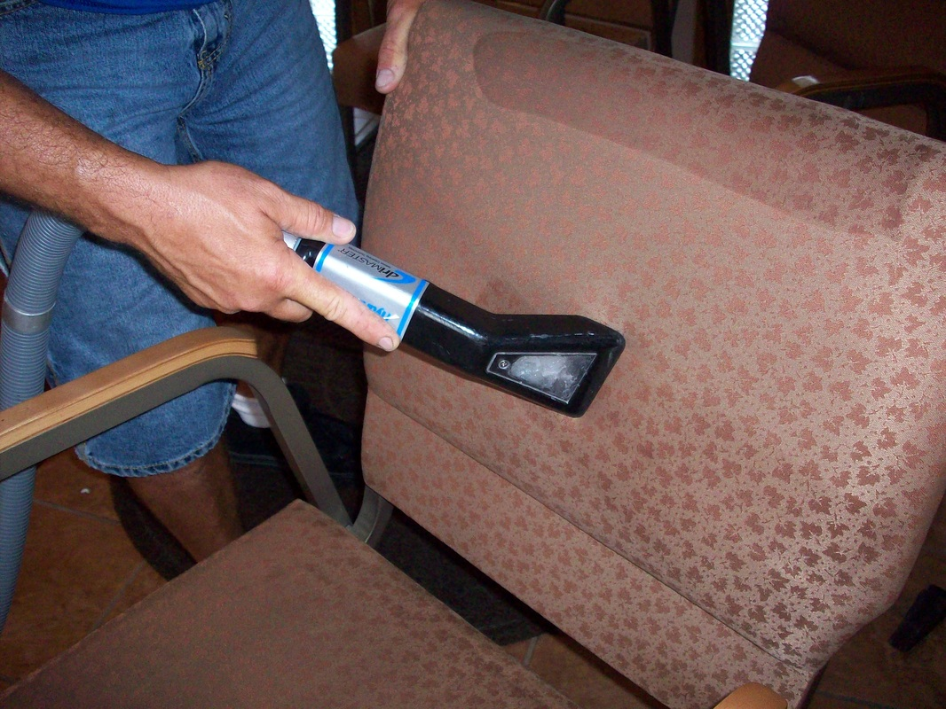 Furniture and upholstery cleaning is a skill each cleaning technician must learn